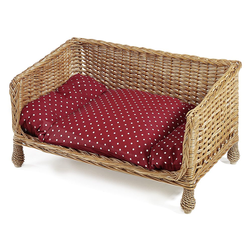 Aumuller Wicker Dog & Cat Sofa