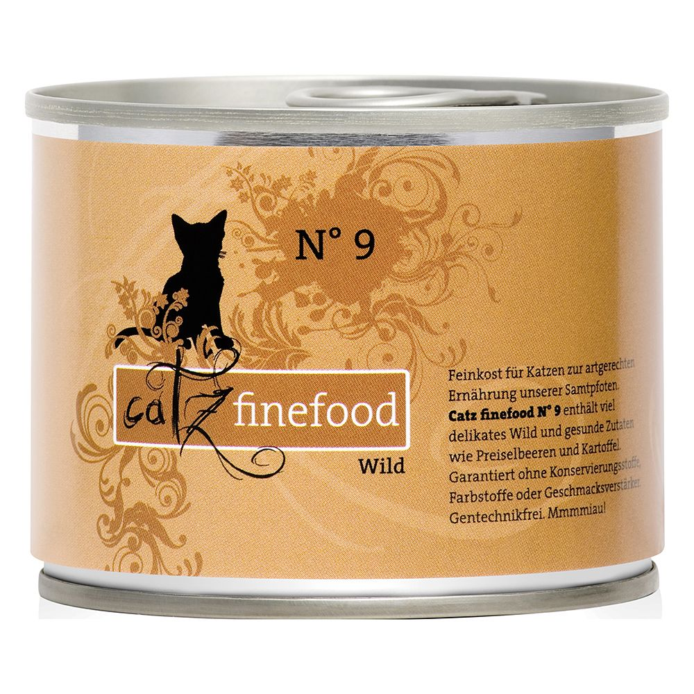 6 x 200g Catz Finefood Can Mixed Trial Pack - 10% Off!* - Mixed Trial Pack I