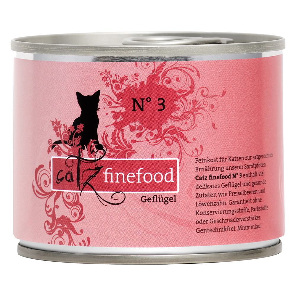 Catz Finefood Can 6 x 200g - Lamb & Rabbit