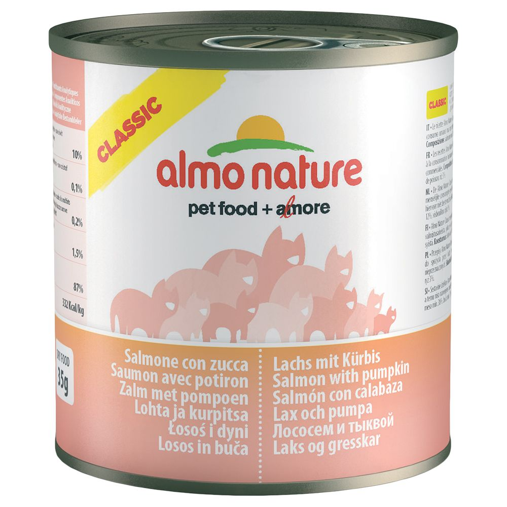 Almo Nature Classic Saver Pack 12 x 280g - Chicken & Salmon