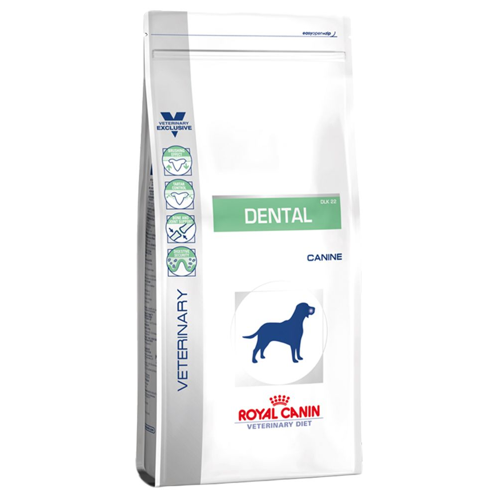 Royal Canin Veterinary Diet Dog - Dental DLK 22 - Economy Pack: 2 x 14kg