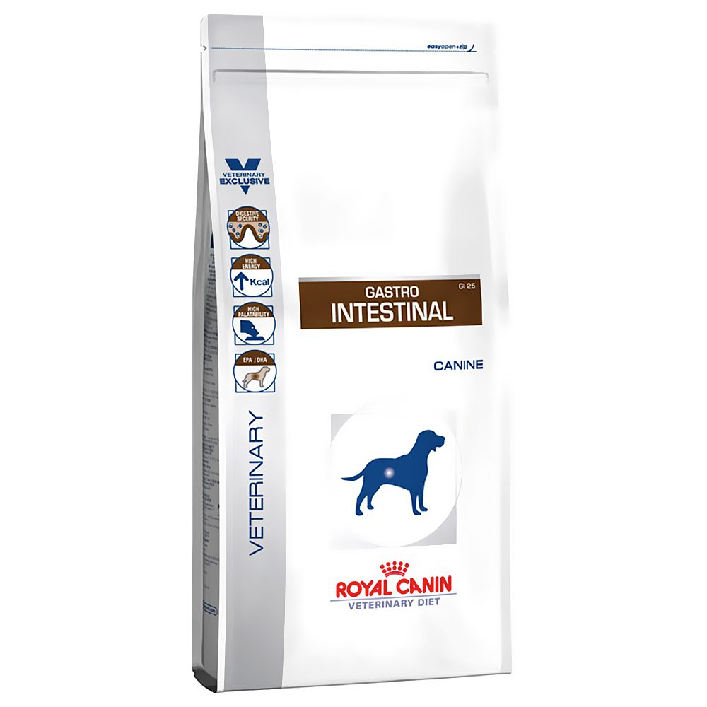 Foto Royal Canin Gastro Intestinal GI 25 Veterinary Diet - 7,5 kg Royal Canin Veterinary Diet Problemi gastrointestinali