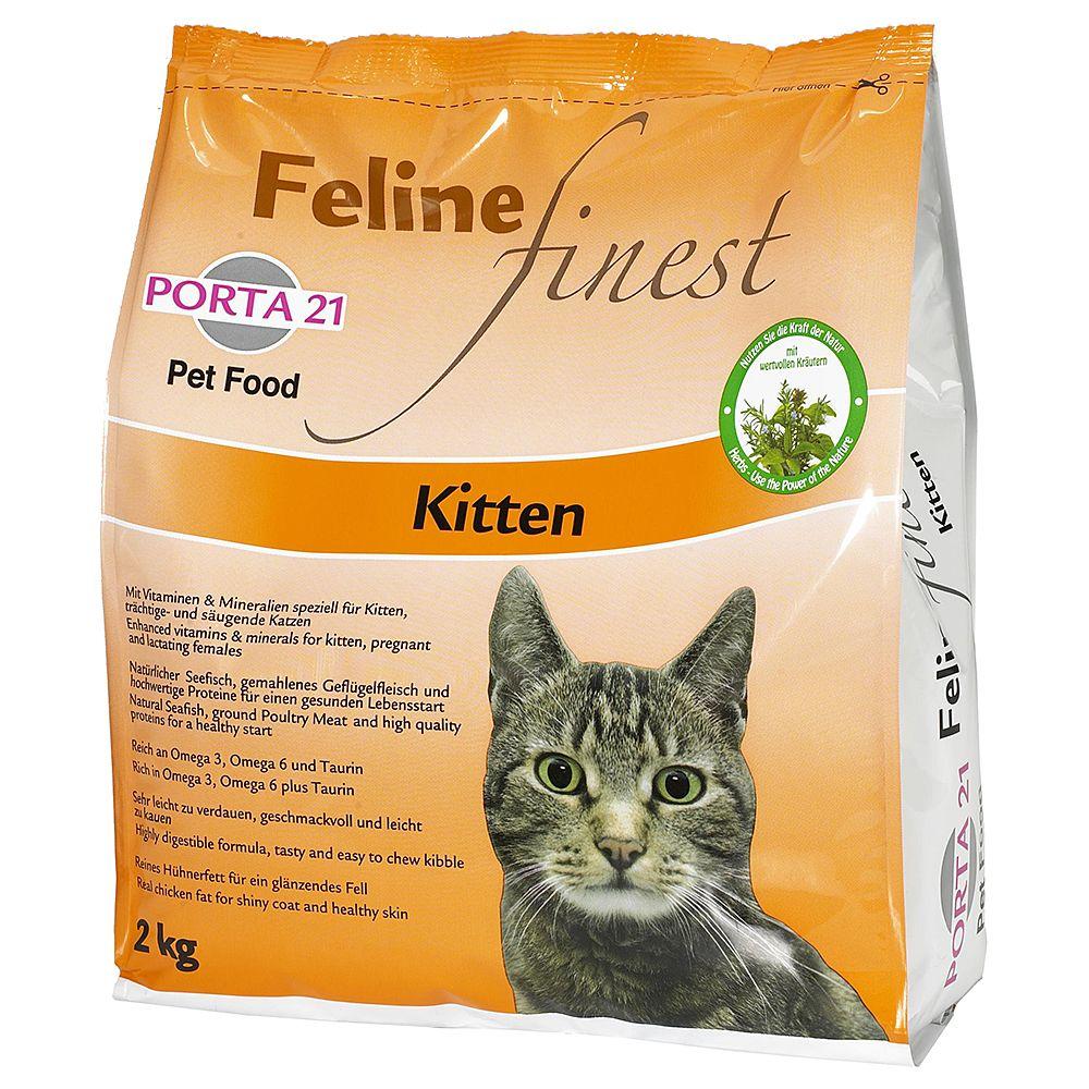 Porta 21 Feline Finest Kitten - Ekonomipack: 2 x 2 kg