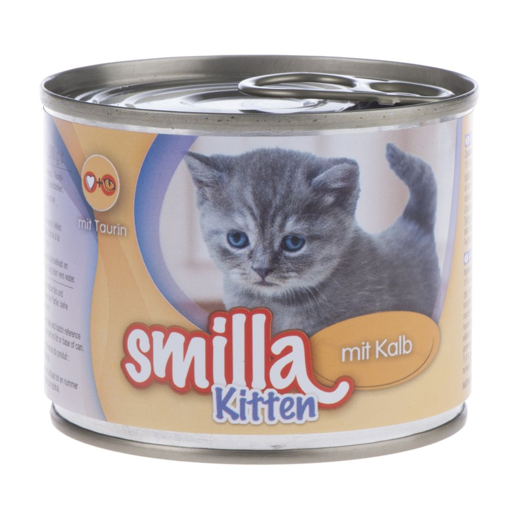 Smilla Kitten Saver Pack 12 x 200g - with Veal