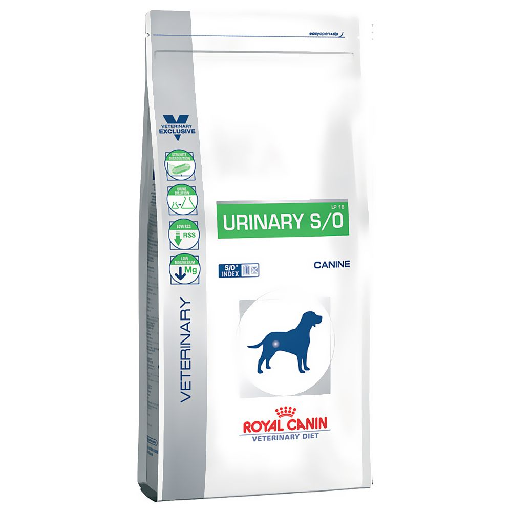 Royal Canin Veterinary Diet Dog - Urinary S/O LP 18 - Economy Pack: 2 x 14kg
