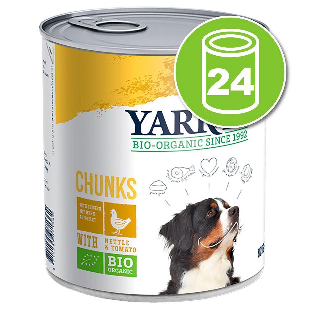 24x820g poulet en sauce Yarrah - Nourriture pour chien