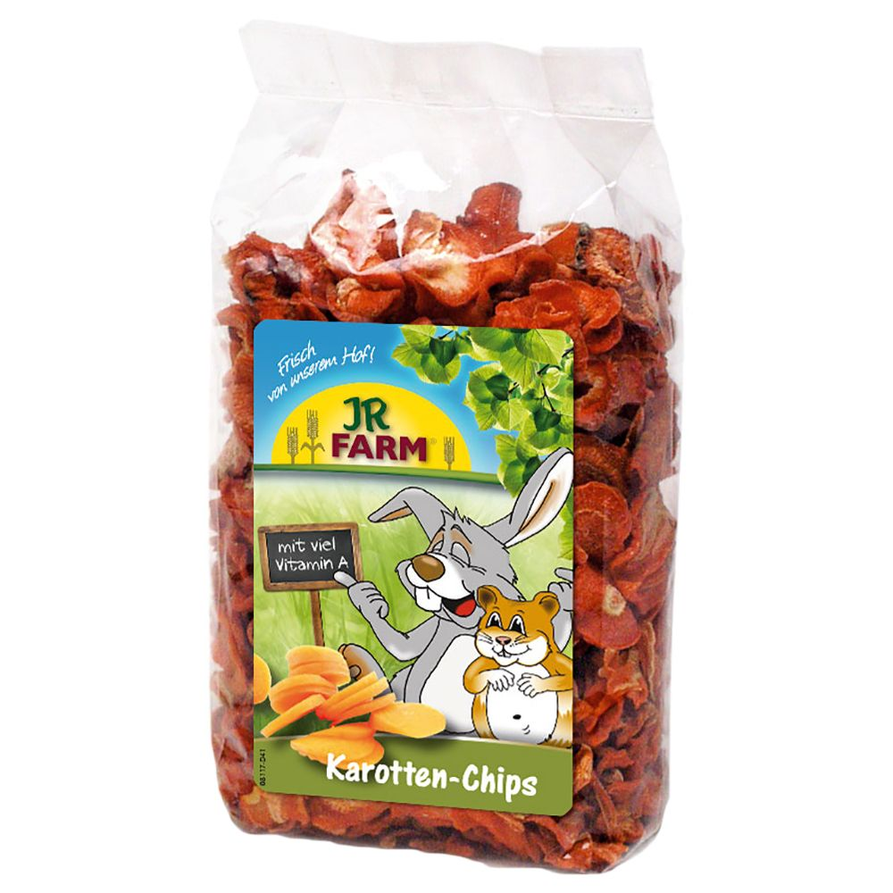 JR Farm Carrot Chips - Saver Pack: 5 x 125g