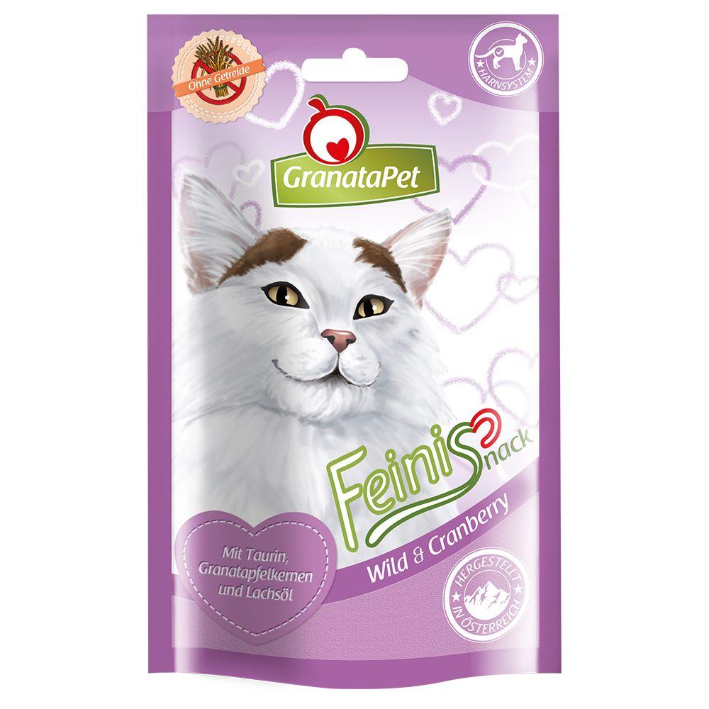 50g Feinis canard, menthe à chat GranataPet pour chat - Friandise pour chat