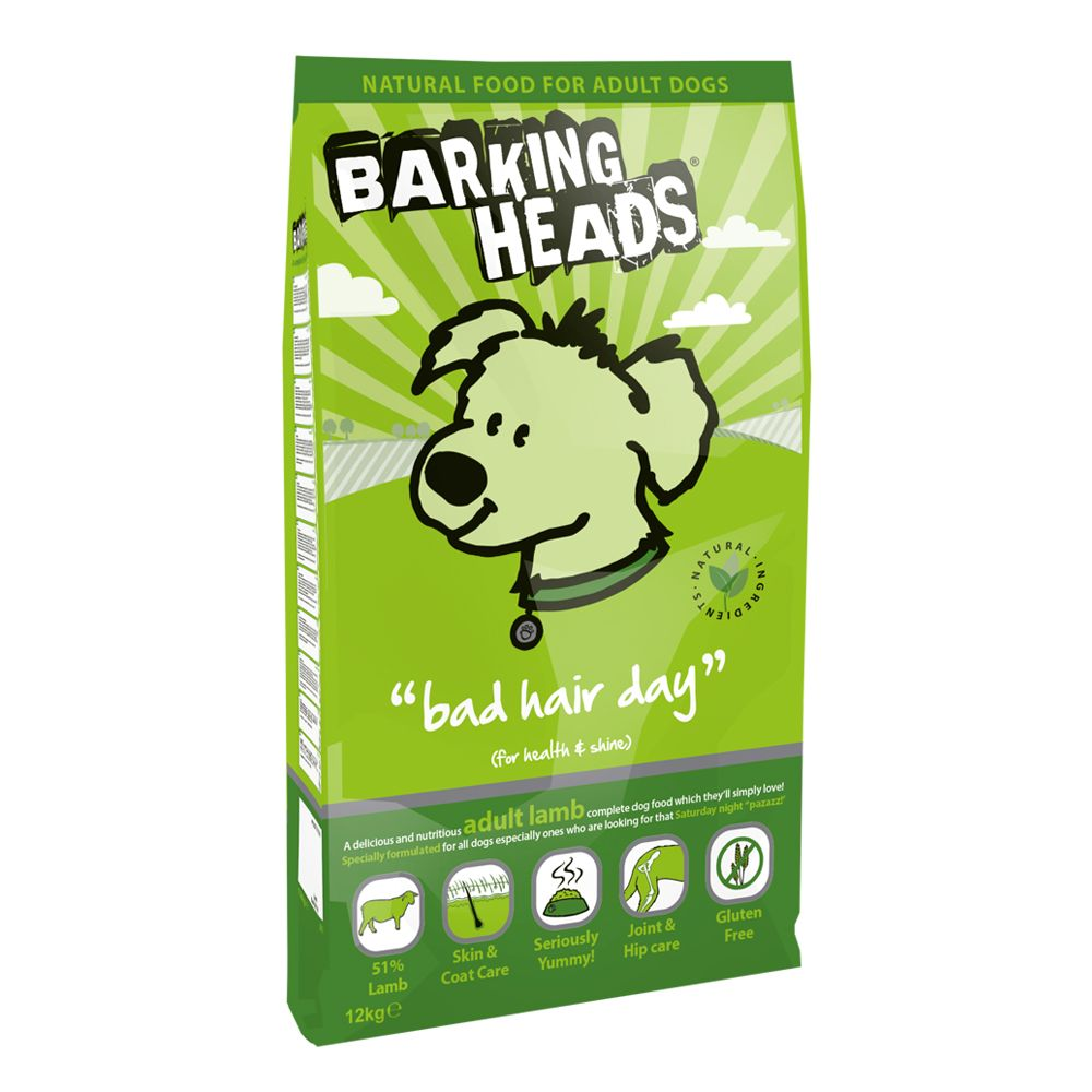 Barking Heads Bad Hair Day Lamb - 12kg