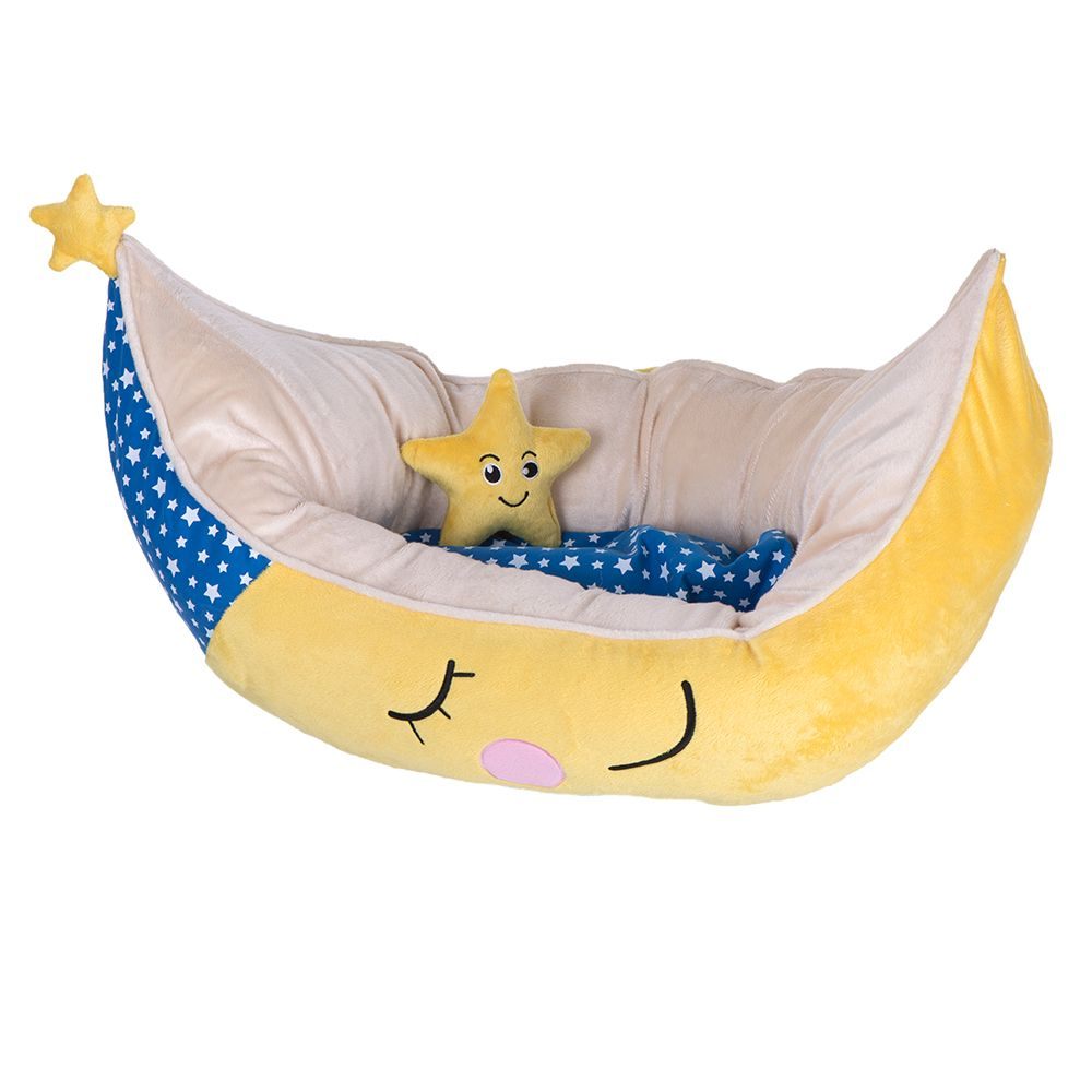 Snuggle Bed Moon for Dogs 70x45x30cm (LxWxH)