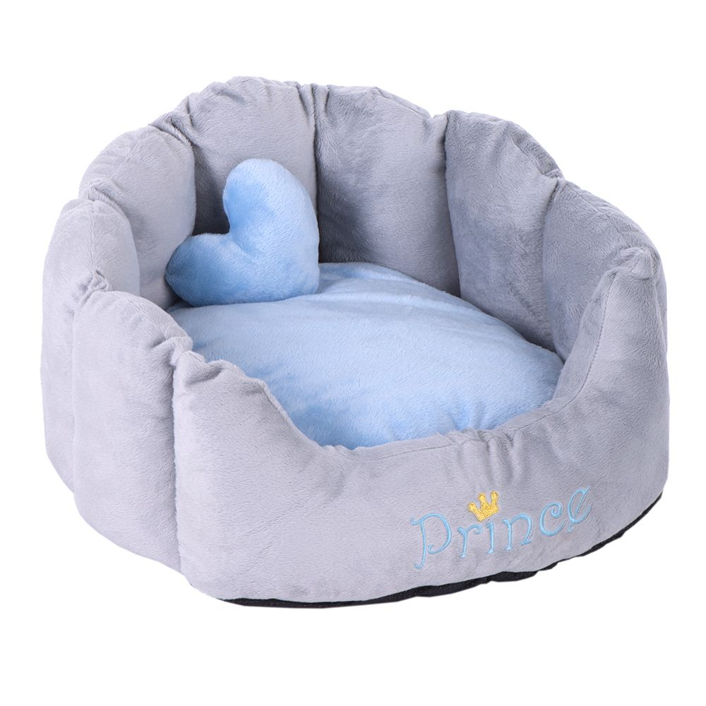 Blue Prince Snuggle Dog Bed 45x40x28cm