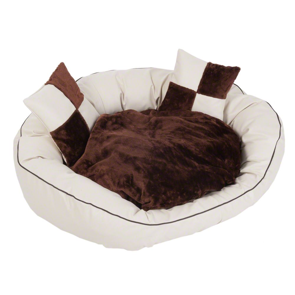 Artificial Leather Bed