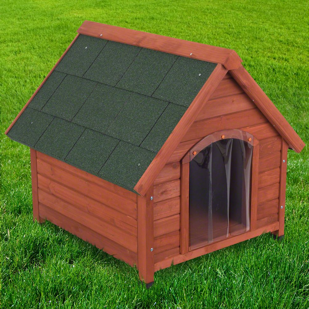The Spike All Season Dog Kennel is ideal for dogs that live outside all year round and need protection from the wind, sun, rain and snow: This all seasons kennel h...
