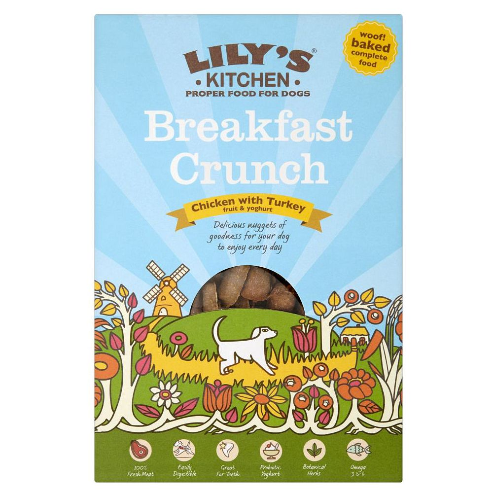 Lily's Kitchen Breakfast Crunch for Dogs - Economy Pack: 6 x 800g
