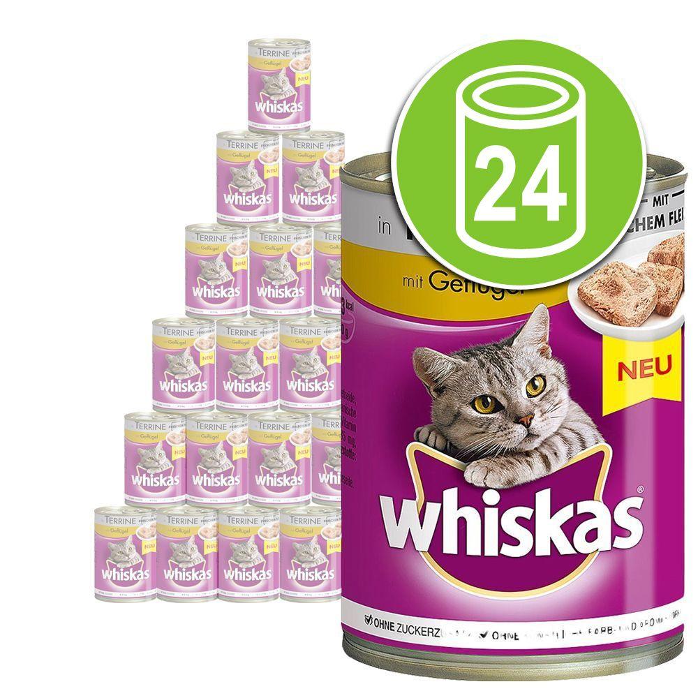 24x400g Whiskas Adult 1+ Sélection en sauce