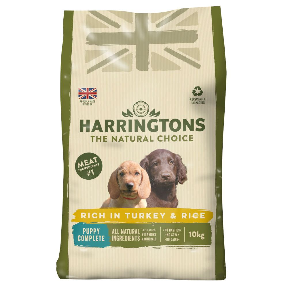 Harringtons Puppy Turkey & Rice Complete Dry Dog Food