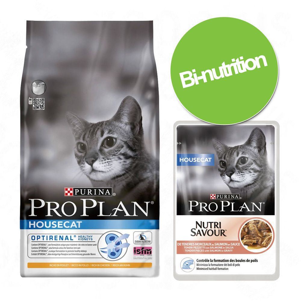 Chat Croquettes Purina PRO PLAN Bi nutrition