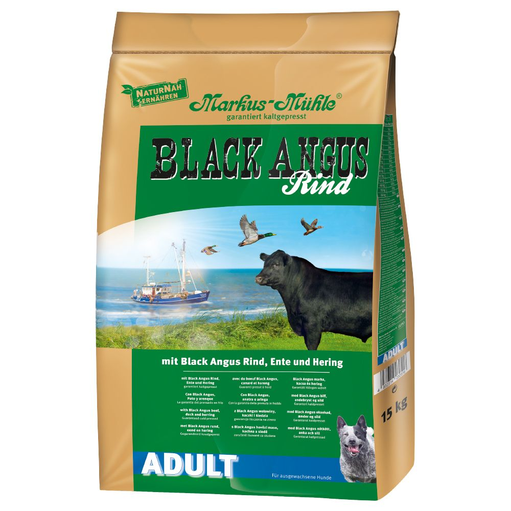 Adult Black Angus Markus  Muhle Dry Dog Food