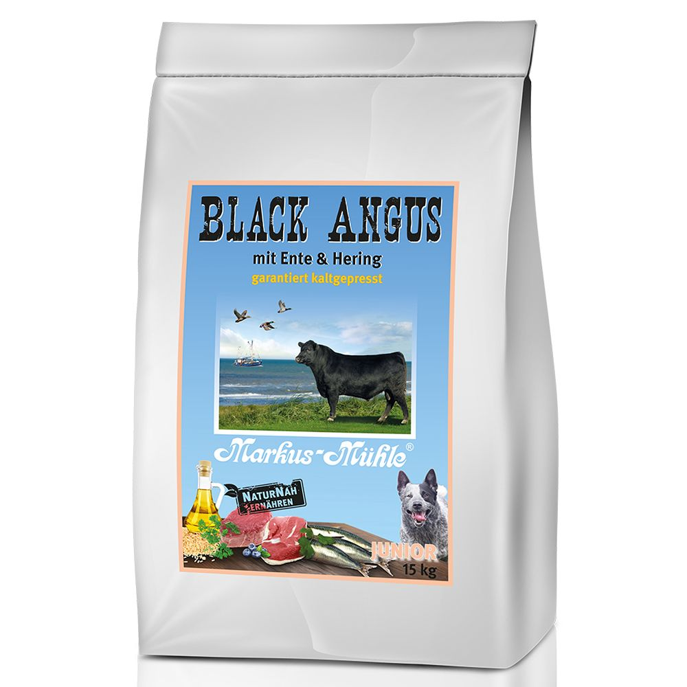 Junior Black Angus Markus  Muhle Dry Dog Food