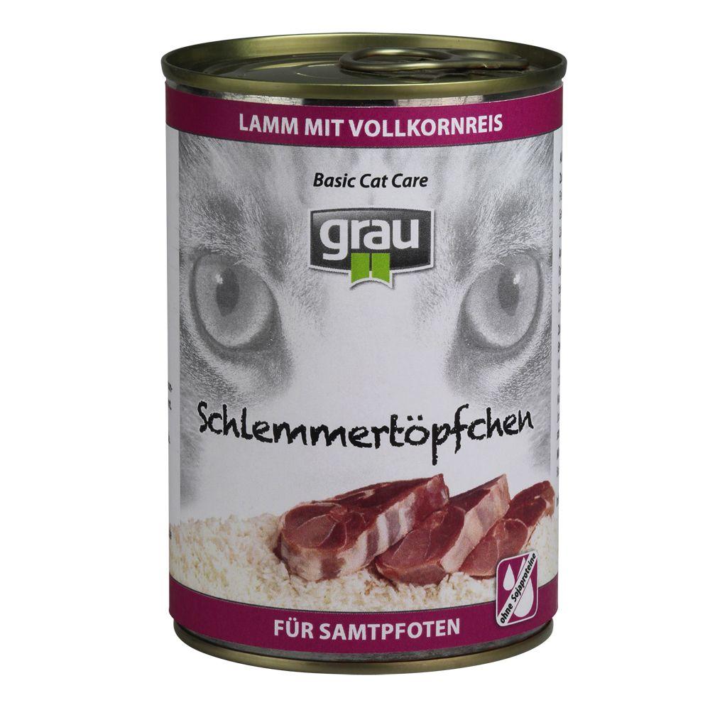Grau Schlemmertöpfchen mit Vollkorn 6 x 400 g -...