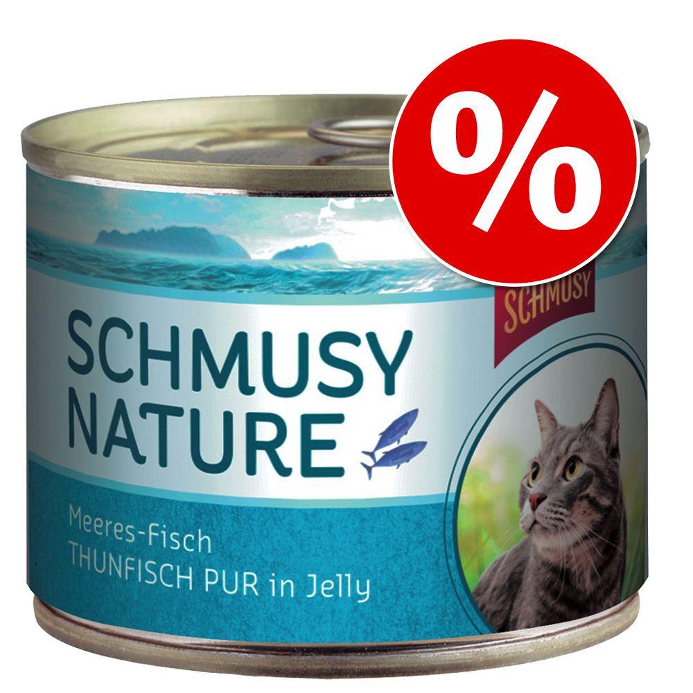 Schmusy Nature Ryba w puszkach, 12 x 185 g w super cenie! - Sardynka