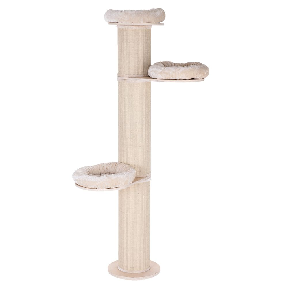 The Natural Paradise Scratching Post XXL is an amazing cat scratch post. This very tall scratch pole has a 27cm diameter and stands approx. 219cm tall. It will rem...