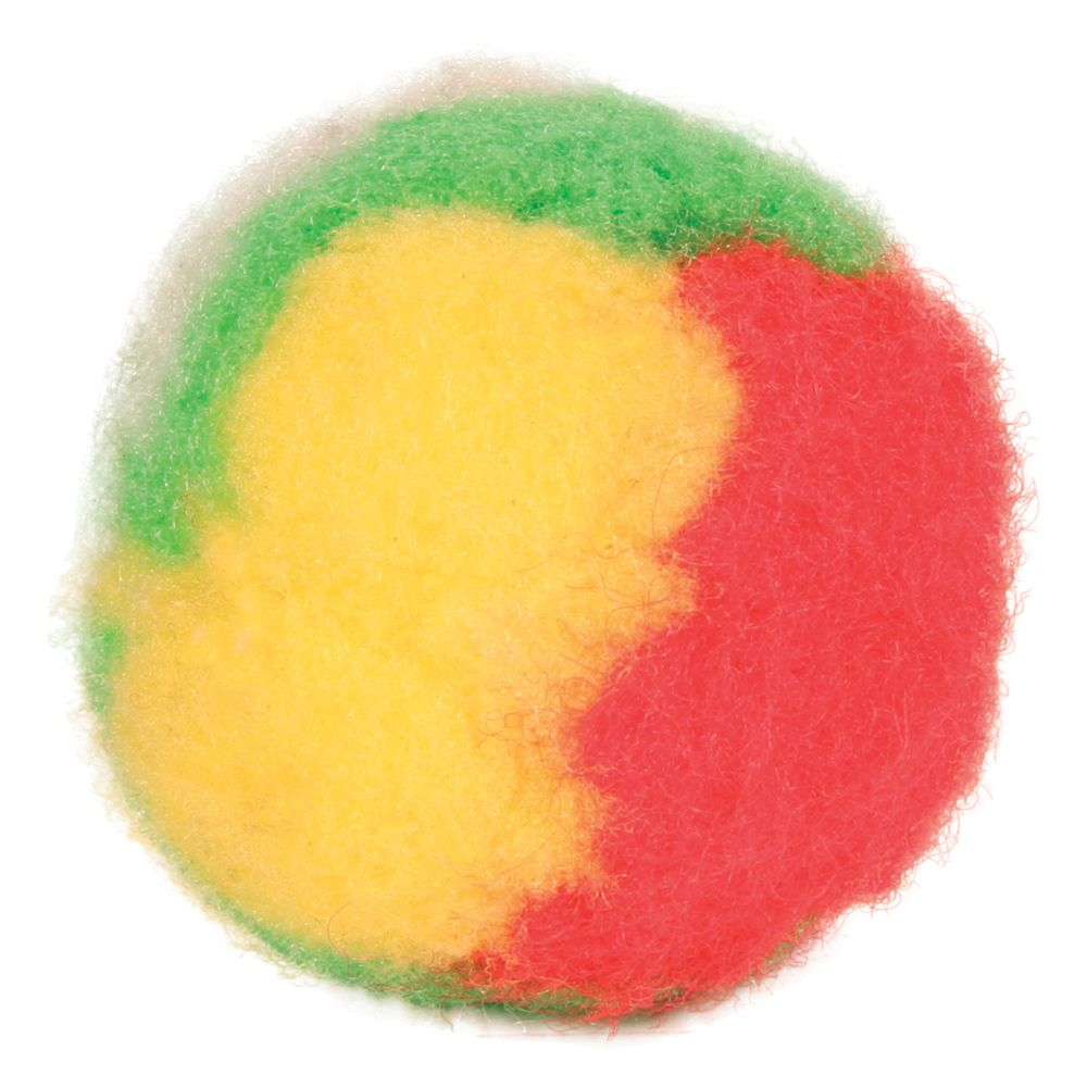 Image of £0.99 Trixie Pompom Balls - 4 Balls | Cat / Cat Toys / Ball Toys / - 4011905040943