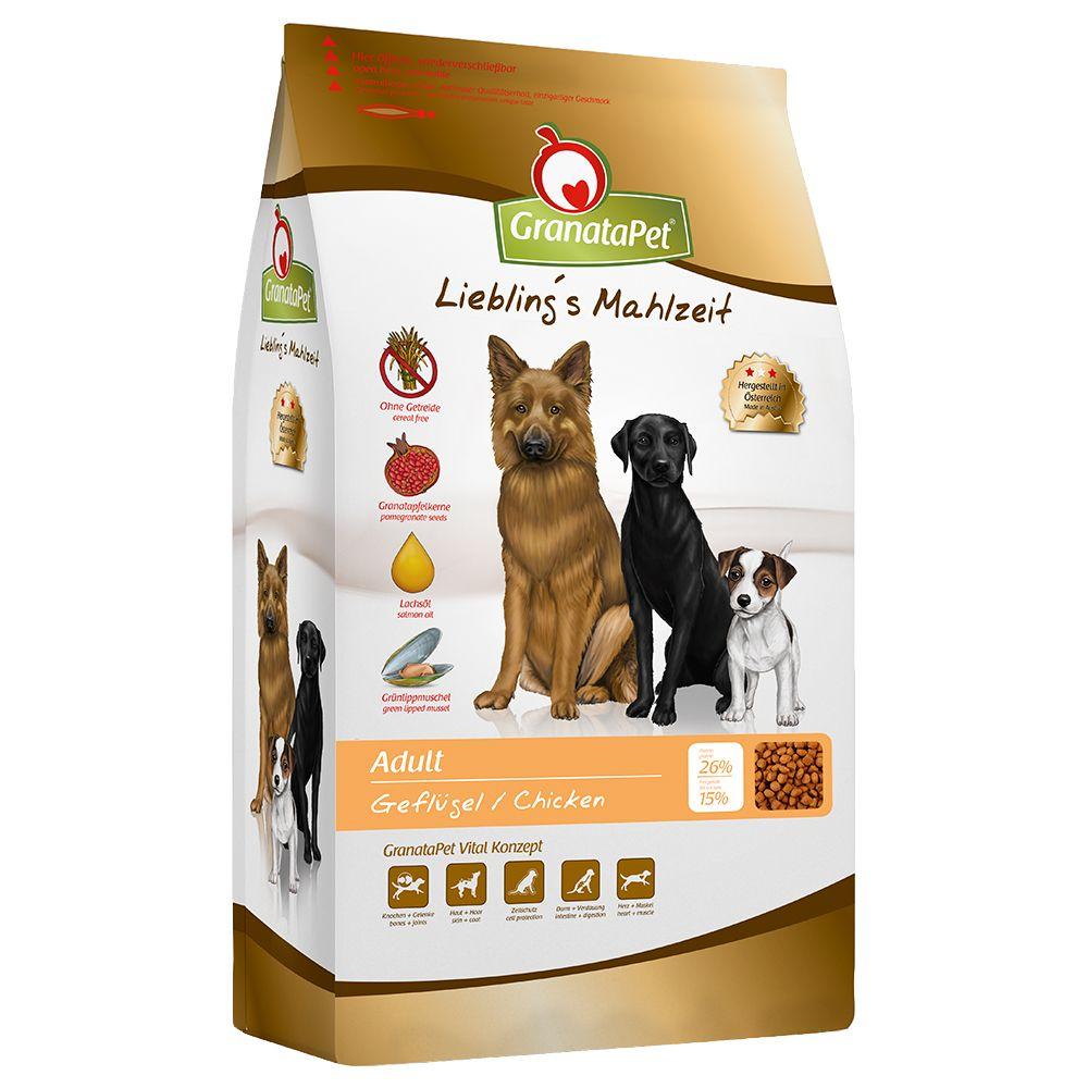 10kg GranataPet Liebling's Mahlzeit Adult, volaille - Croquettes pour chien