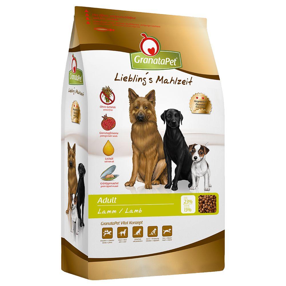 2x10kg GranataPet Liebling's Mahlzeit Adult, agneau - Croquettes pour chien