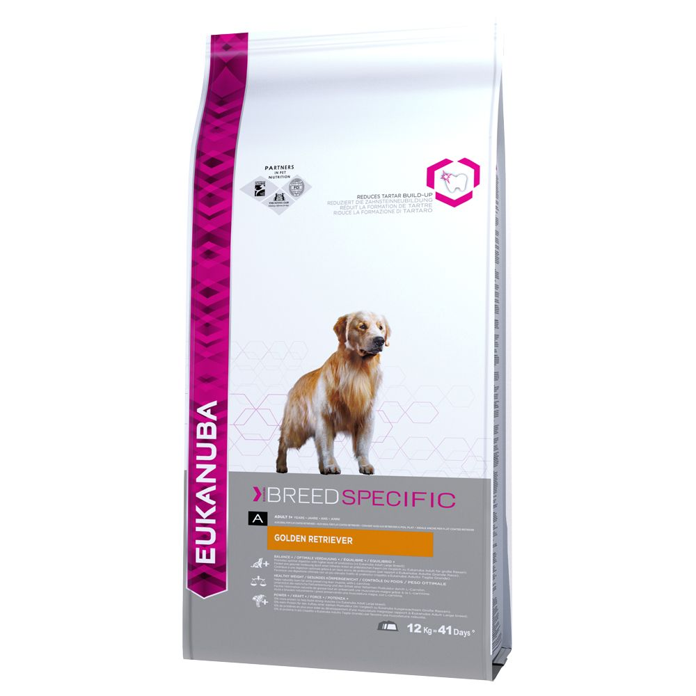 Foto Eukanuba Golden Retriever - 12 kg Eukanuba Breed Nutrition