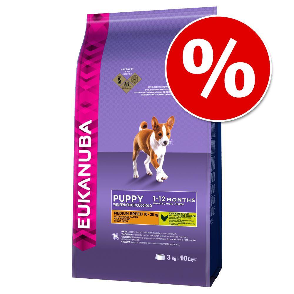 18 kg Eukanuba w super cenie! - Adult Medium Breed, kurczak