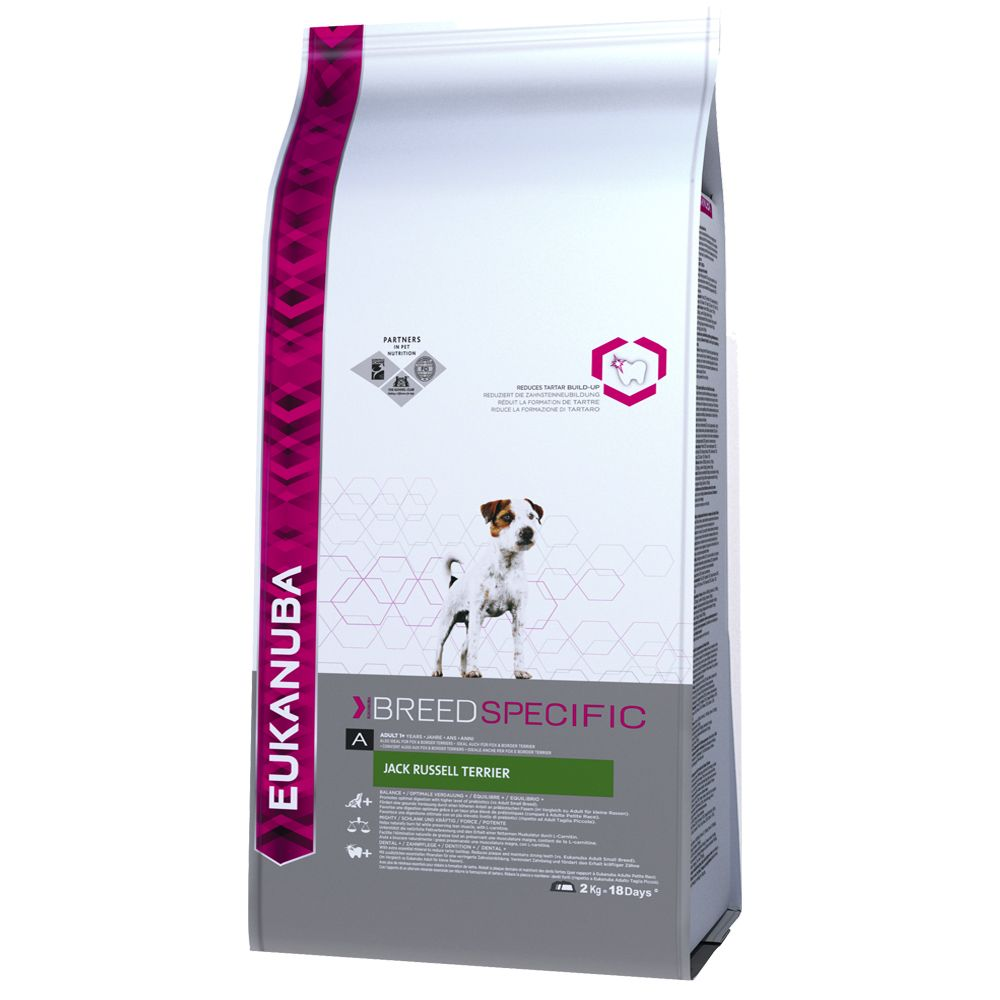 Jack Russell Terrier Adult Eukanuba Dry Dog Food