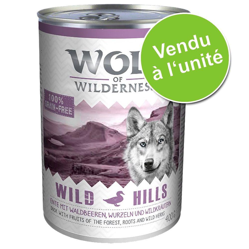 Chien Boîtes et sachets ★ Wolf of Wilderness Offres d´essai boîtes