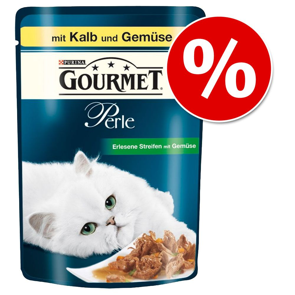 48 x 85 g Gourmet Perle w super cenie! - Królik