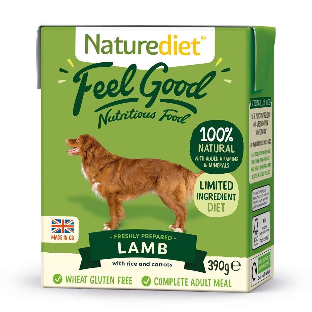 Lamb Naturediet Feel Good Adult Wet Dog Food