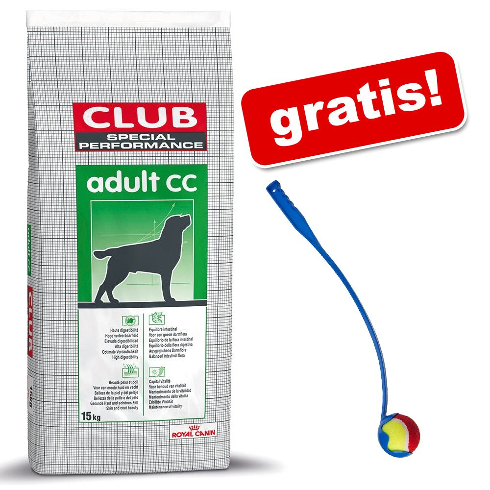 Royal Canin Club / Selection + Wyrzutnia piłki dla psa gratis! - Club Pro Energy HE, 20 kg