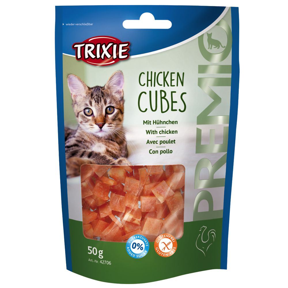 Trixie Premio Chicken Cubes - Saver Pack: 3 x 50g