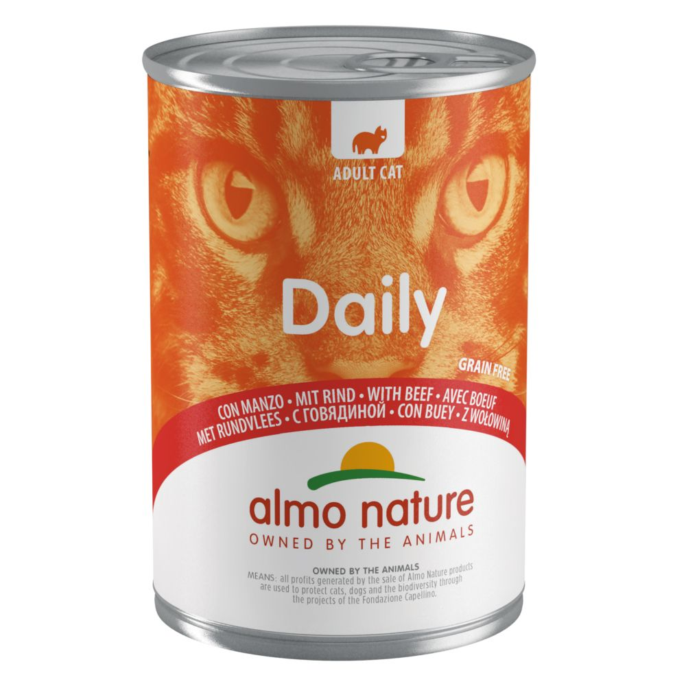 Image of Almo Nature Daily Menu 6 x 400 g - Kalb