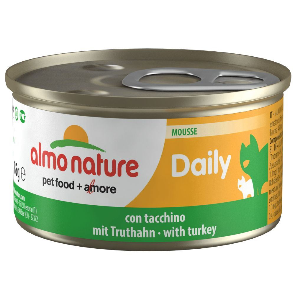 Almo Nature Daily Menu 6 x 85g - Chunks with Turkey & Duck