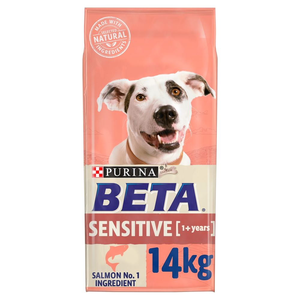 2x14kg Adult Sensitive Salmon BETA Dry Dog Food