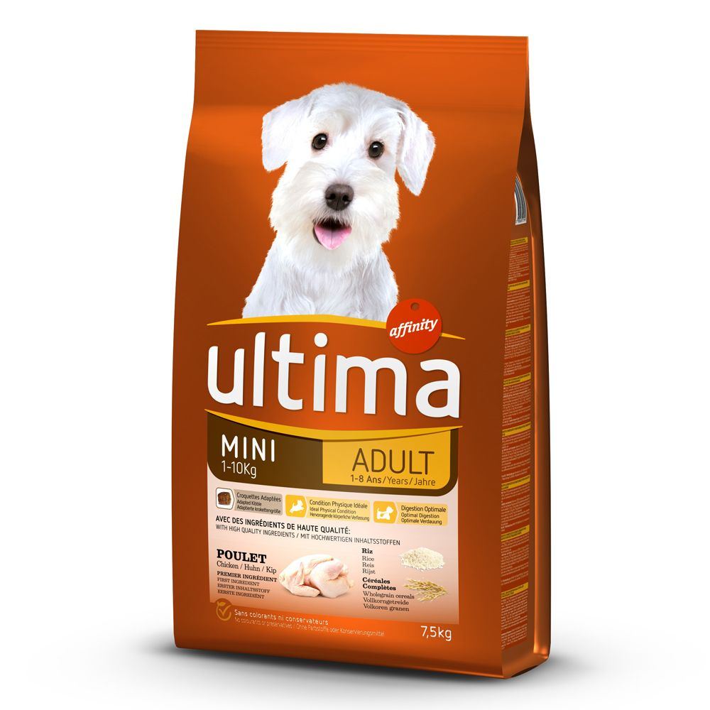 Bilde av Ultima Mini Adult Chicken - 7,5 Kg