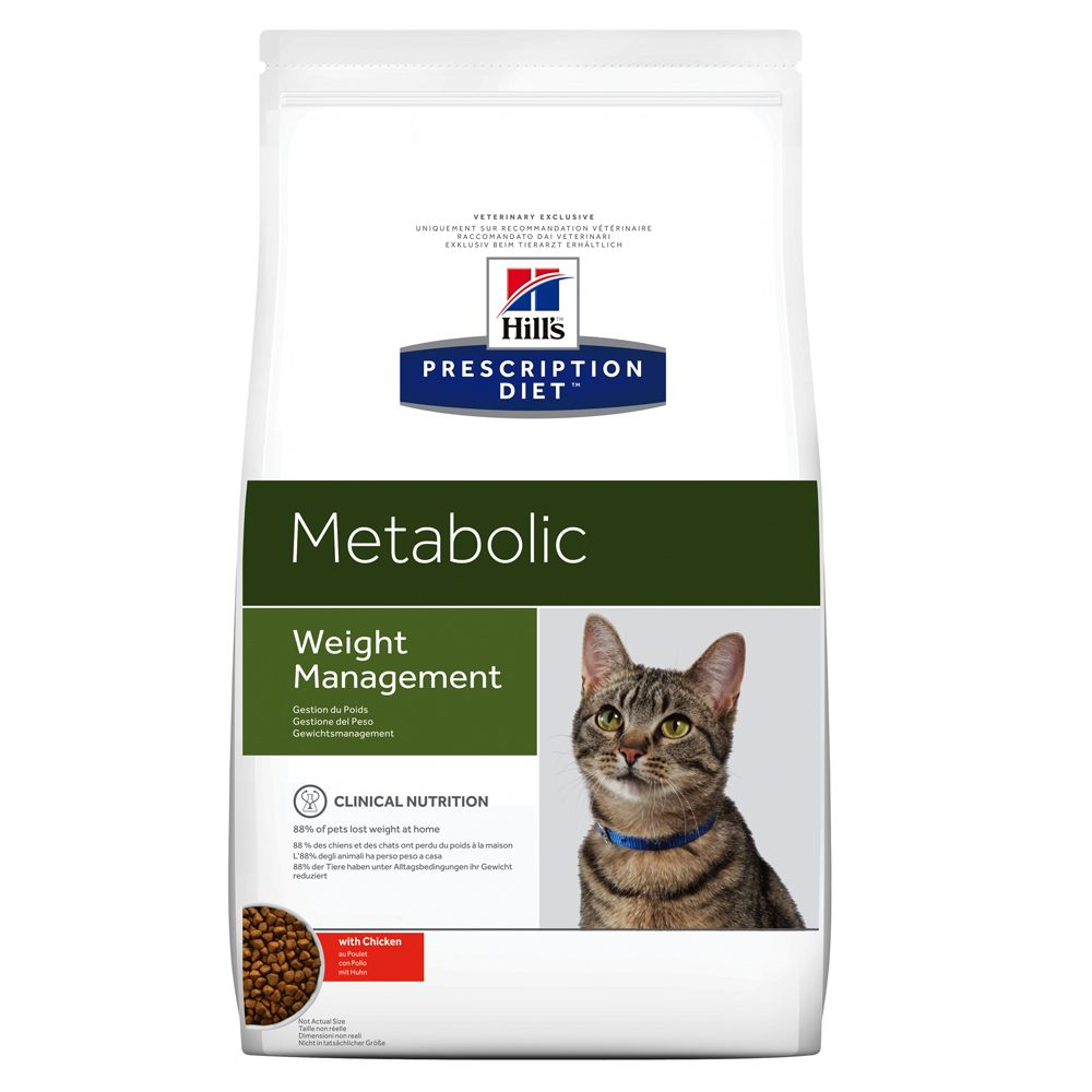 Hill's Prescription Diet Metabolic Feline Weight Management mit Huhn - 1,5 kg