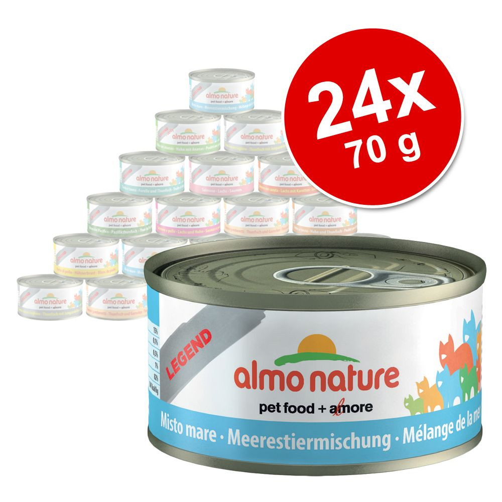 Image of Almo Nature Legend 24 x 70 g - Tonno con Vongole