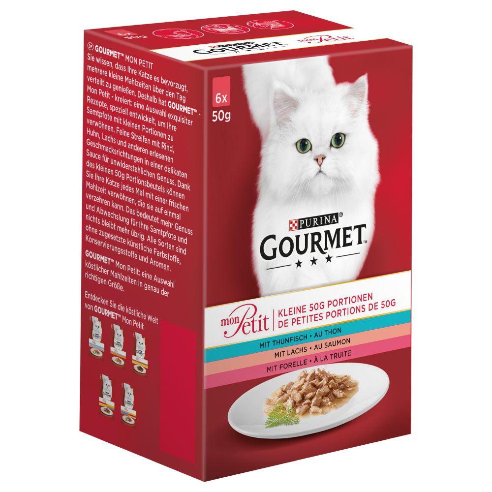 50g Gourmet Mon Petit Wet Cat Food