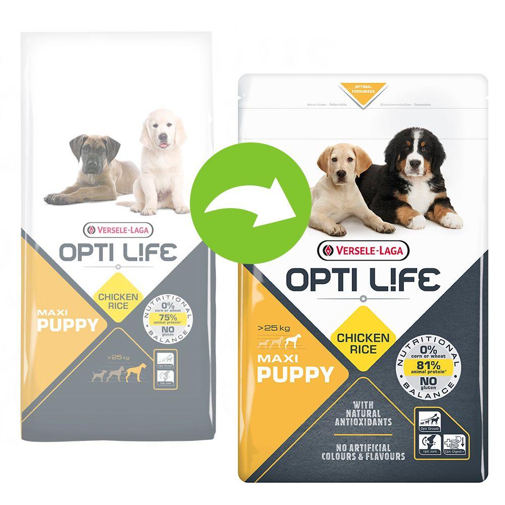 12,5kg Maxi Puppy Opti Life Croquettes pour chiot