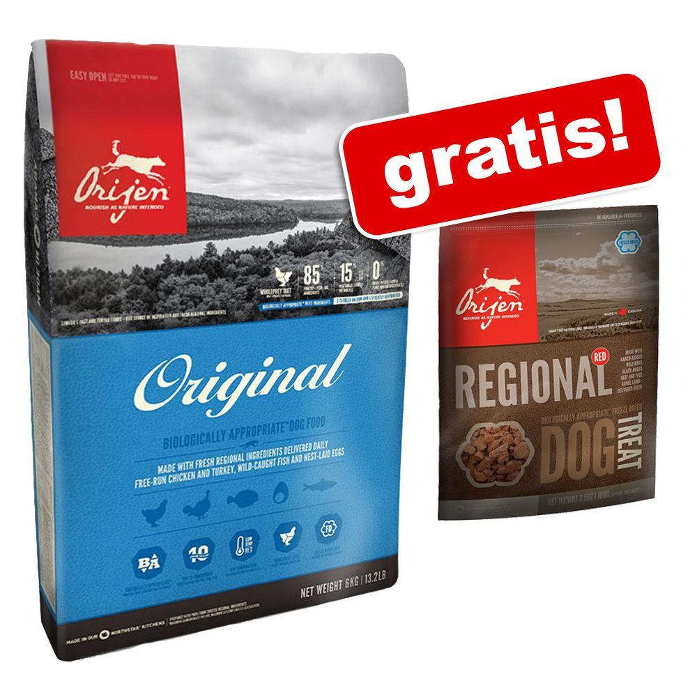 6 kg Orijen + przysmak Orijen Regional Red, 56,7 g gratis! - Orijen Regional Red, 6 kg