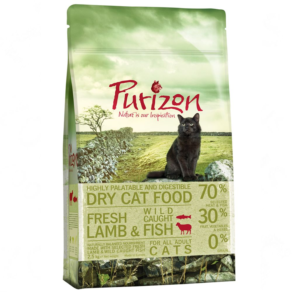 2.5kg Purizon Dry Cat Food