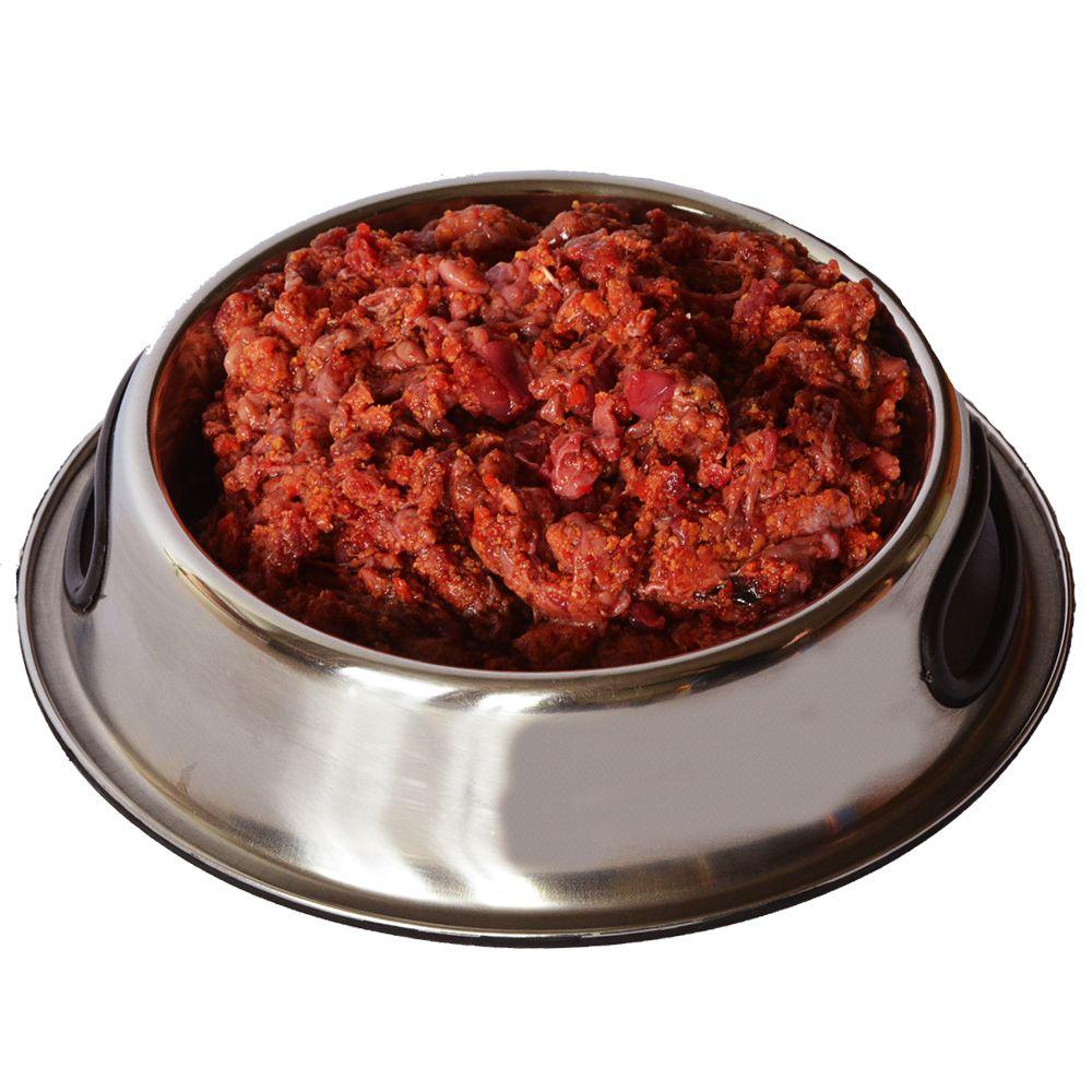 proCani Welpen Menü Rind mit Hühnerhälse, Karotten & Apfel - 40 x 2 x 200 g