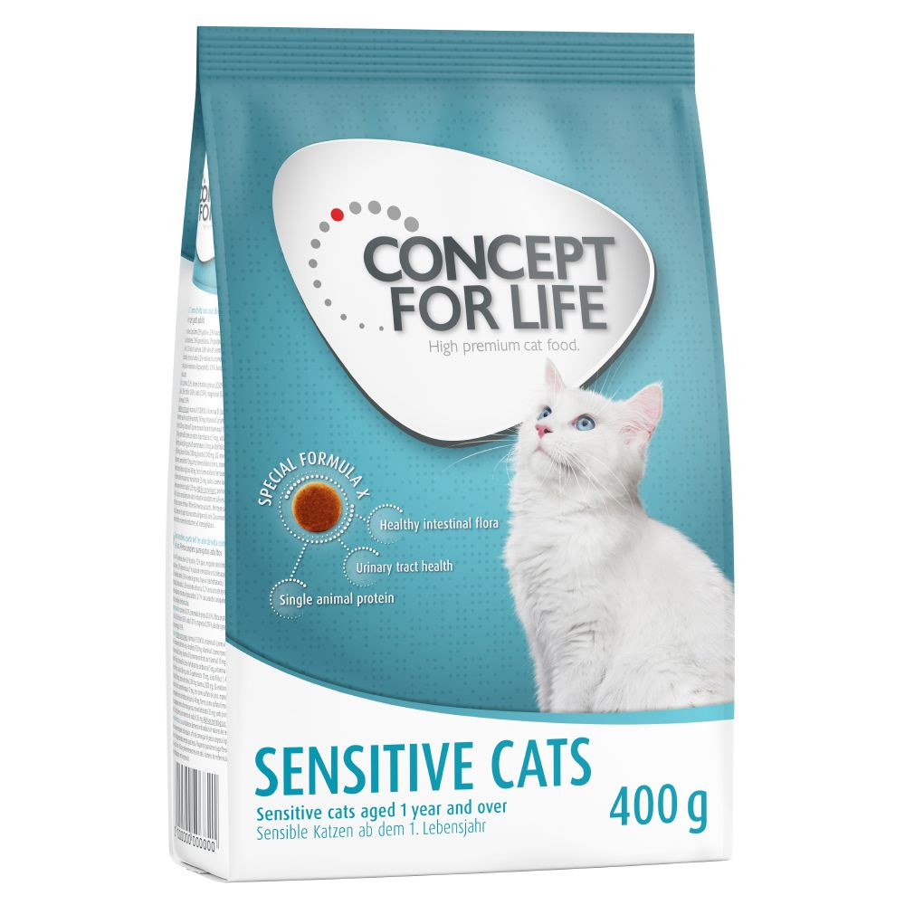 Concept for Life Sensitive Cats - Ekonomipack: 2 x 10 kg