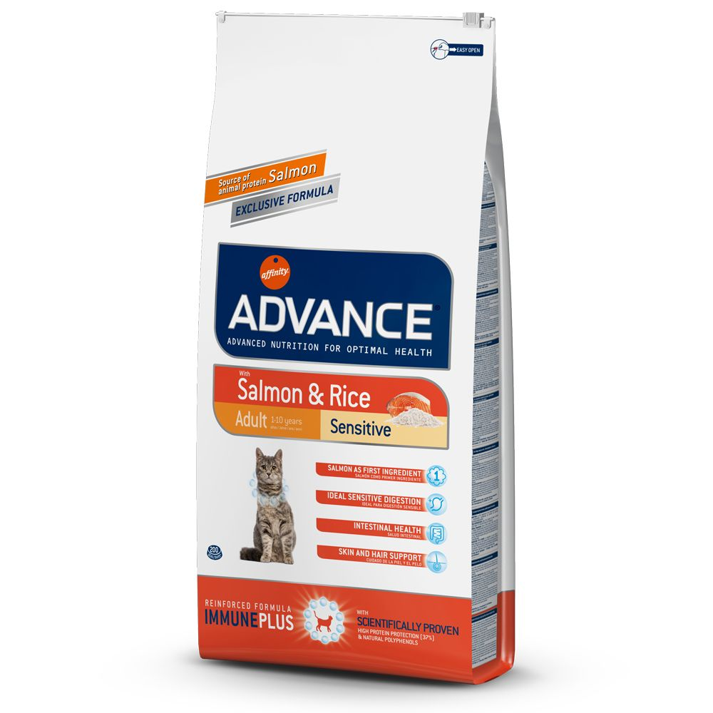 Advance Sensitive Salmon & Rice - Ekonomipack: 2 x 10 kg